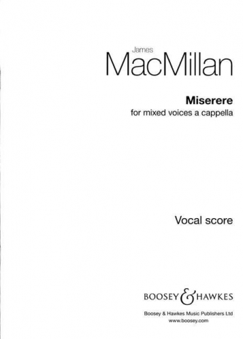 Miserere: Mixed Voices A Capella