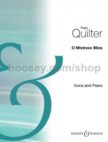 O Mistress Mine: G Major: Solo Song