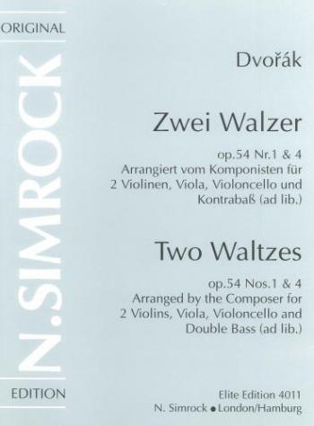 String Quartet Op. 54/1 Score & Parts