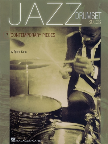 Jazz Drumset Solos: 7 Contemporary Pieces; Book And C
