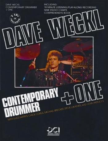 Dave Weckl: Contemporary Drummer + One: Bk & CD