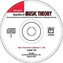 Alfred: Complete Essentials Of Music Theory: Ear Training: 1&2: Cd Only