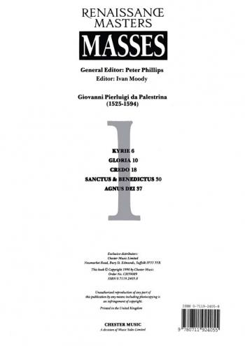Palestrina: Missa Dies Sanctificatus