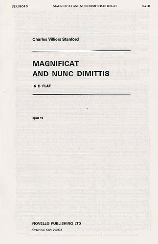 Magnificat And Ninc Dimittis: Bb: Vocal: SATB