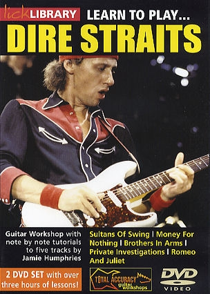 Lick Library: Learn To Play Dire Straits: DVD