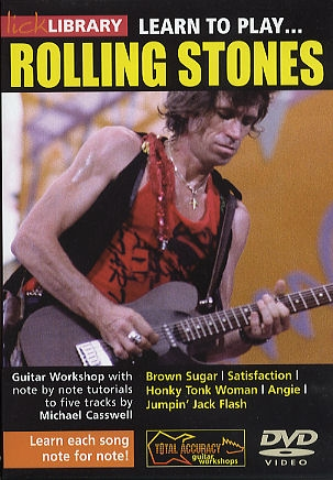 Lick Library: Learn To Play - Rolling Stones - DVD