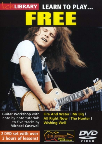 Lick Library: Learn To Play Free