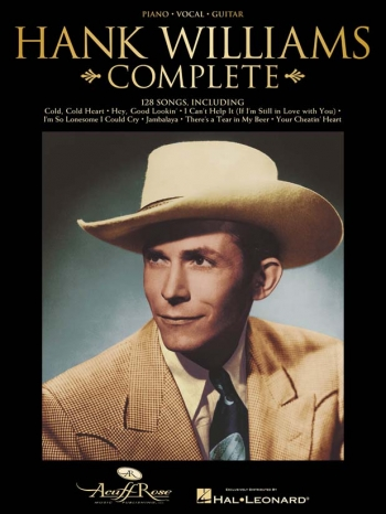 Hank Williams: Complete: Piano Vocal And Guitar
