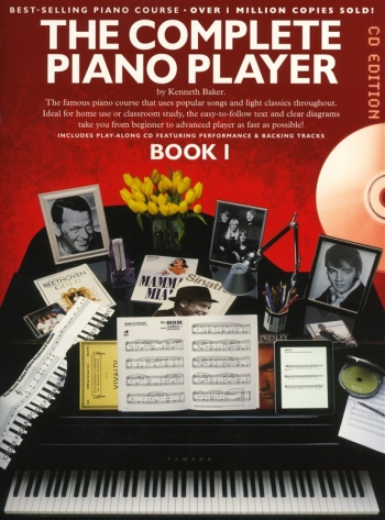 Complete Piano Player: Book 1: Book And Cd