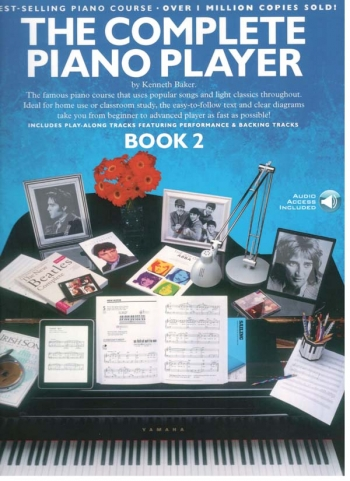 Complete Piano Player: Book 2: Book And Cd