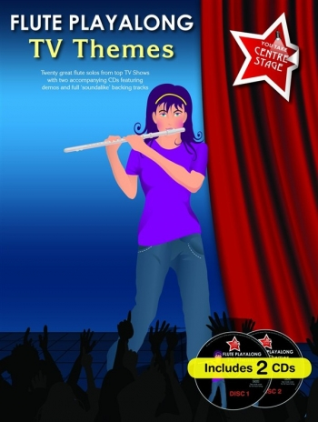 You Take Centre Stage: Tv Themes: Flute: Book & CD