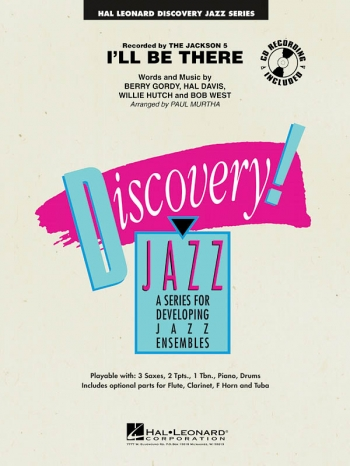 Discovery Jazz: I'll Be There: Big Band Score & Parts  (Jackson 5)