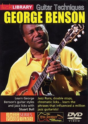 Lick Library: Learn To Play George Benson: DVD