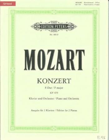 Concerto In F Major: K459: No 19: Piano (Peters)