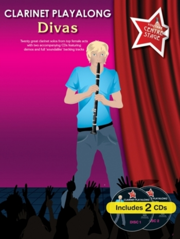 Clarinet Playalong: Divas: You Take Centre Stage: Book And CD