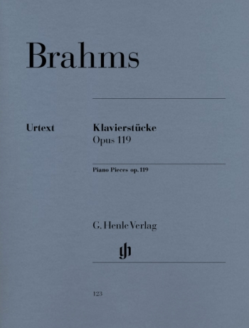 Klavierstucke Op.119 (Henle)