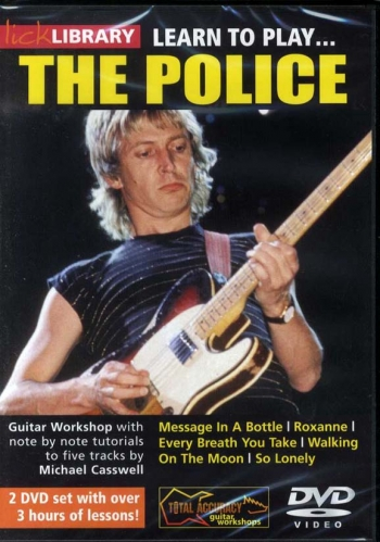 Lick Library: Learn To Play The Police: DVD