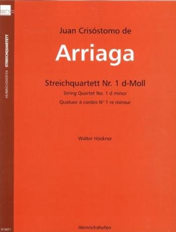 Quartet No.1 In D Minor: 2Vln.Vla.Vc
