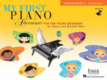 Faber Piano Adventures: My First Piano Adventure: Lesson Book A: Pre-Reading