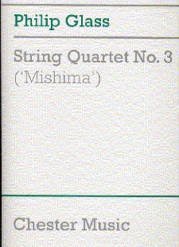 String Quartet No3: Mishima: Score Only