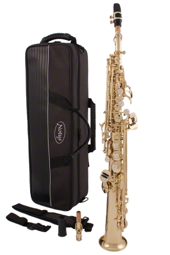 Notus SS-22 Soprano Sax With 2 Crooks