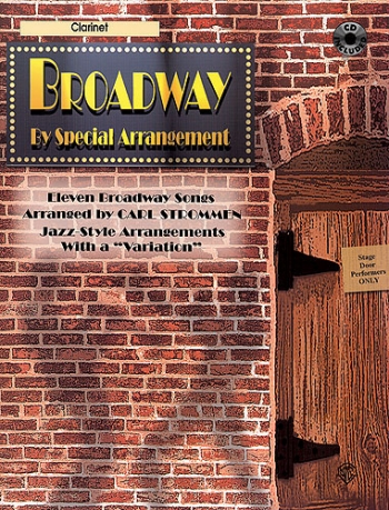 Broadway By Special Arrangement: Clarinet Book & CD