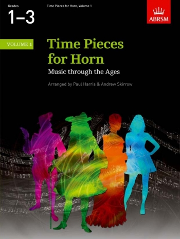 Time Pieces For French Horn Vol.1: French Or Tenor Horn & Piano (ABRSM)