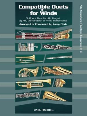 Compatible Duets For Winds: Alto Saxophone