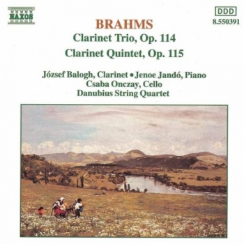 Clarinet Trio & Quintet - Naxos CD