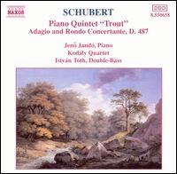 Piano Quintet Trout : Naxos CD Recording