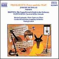 Peter & The Wolf - Saint-Saens Carnival - Britten YPGTTO: Naxos CD
