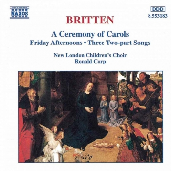 A Ceremony Of Carols: Naxos CD