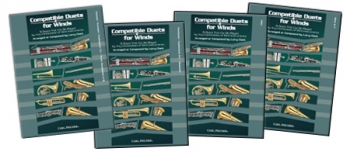 Compatible Duets For Winds: Trombone/Euphonium  Bass Clef