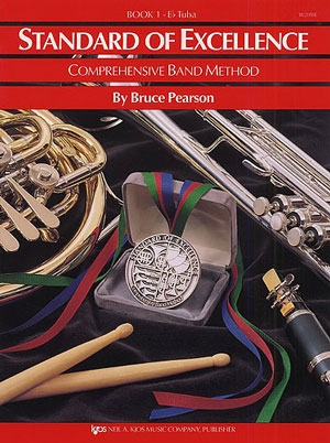 Standard Of Excellence: Comprehensive Band Method Book 1 Eb Tuba Bass Clef