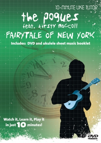 10 Minute Teacher:  The Pogues: Fairytale Of New York: Watch It Learn  It : Dvd: Ukulele
