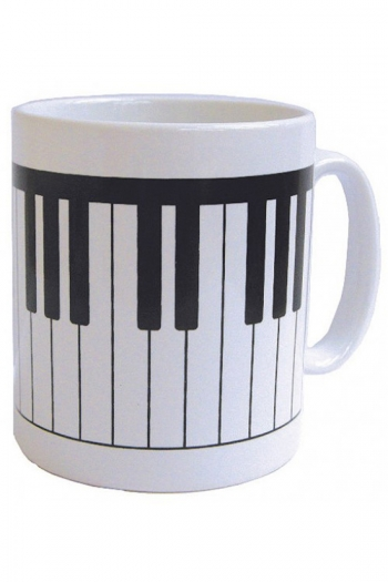 Mug Earthenware Keyboard