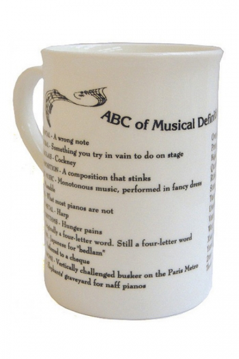 Mug ABC Of Music Definitions