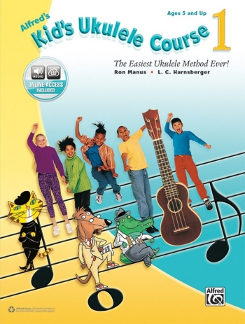 Alfred Kids Ukulele Course: Book 1: Book & Audio