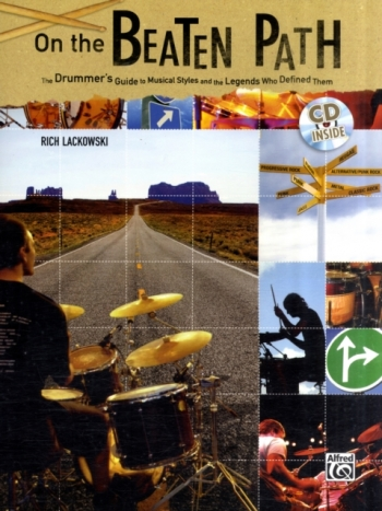 On The Beaten Path: Drum: Tutor: Bk&Cd (Lackowski)