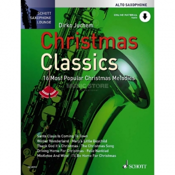 Schott Saxophone Lounge: Christmas Classics: Alto Sax: Bk&cd