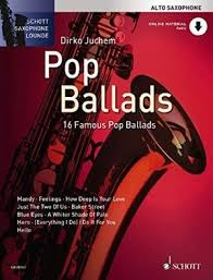 Schott Saxophone Lounge - Pop Ballads - Tenor Sax - 16 Famous Pop Ballads - Bk&cd