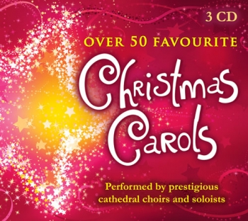 Over 50 Favourite Christmas Carols:  3 Cds Only