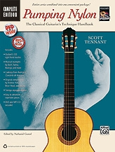 Pumping Nylon Complete: Classical Guitarists Technique Handbook: Bk&Cd&Dvd