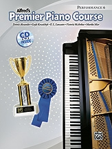 Alfred Premier Piano Course 6: Performance: Book & Cd