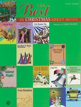 Best In Christmas Sheet Music (easy Piano)