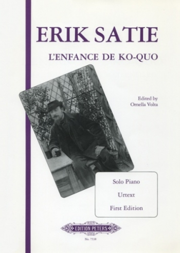 Satie: LEnfance De Ko-Quo: Piano (Peters)