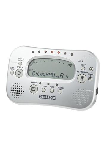 Seiko STH100-SIL Metronome & Tuner