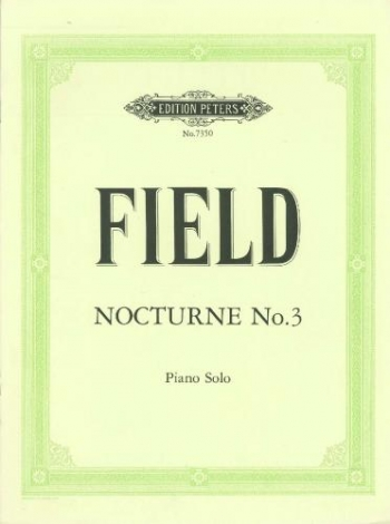 Nocturne No 3: Piano (Peters)