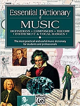 Alfred: Essential Dictionary Of Music: Book
