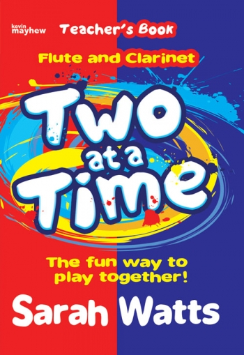 Two At A Time Flute & Clarinet - Teachers Book Piano Accomp